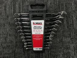 CASE IH 11 PIECE STANDARD COMBINATION WRENCH SET PART# SC600