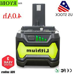 18V 3.0Ah Replacement Battery for Ryobi One Plus P100 P101 C