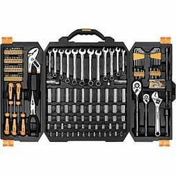 DEKOPRO 192 Piece Mechanics Tool Set Socket Wrench Set,Auto