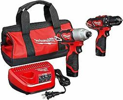 Milwaukee 2494-22 M12 3/8 in. Drill Driver and 1/4 in. Hex I