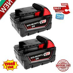 2X For Milwaukee M18 Lithium Ion XC 5.0 Extended Capacity Ba