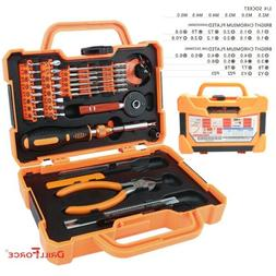 47PCS Screwdriver Bits Set Magnetic Torx Slotted Phillips Pr