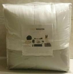Amazonbasics 5-Piece Bed in a Bag Twin/Twin XL Reversible Gr