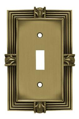 Franklin Brass 64474 Pineapple Single Toggle Switch Wall Pla