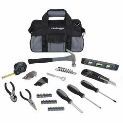 65 piece home repair kit basic tool