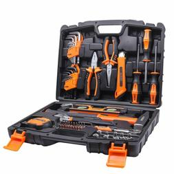 68piece household tool kit home repair hand