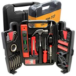Large Tool Set Household Garage Mechanics 131 pc All Purpose