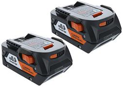 Ridgid AC840087P 18 Volt 4 Amp Hour Lithium-Ion Battery w/ O