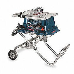 BOSCH Aluminum Portable Table Saw,3650 RPM,10 in Blade, 4100