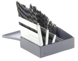 Bosch BL0060 60-Piece Metal Index Black Oxide Drill Bit Set