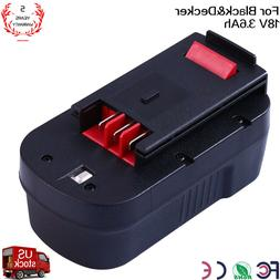For BLACK & DECKER 18V 18 Volt HPB18 Slide Battery HPD1800 F