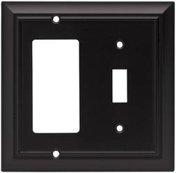 Brainerd Architectural Single Switch/Decorator Wall Plate