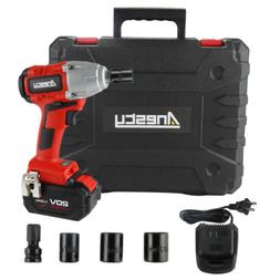 """Brushless Cordless Impact Wrench 1/2"""" Square Impact Wrench 4"""