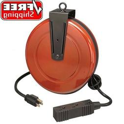 Craftsman Cord Reel Retractable with 30 Ft Extension Cord Mo
