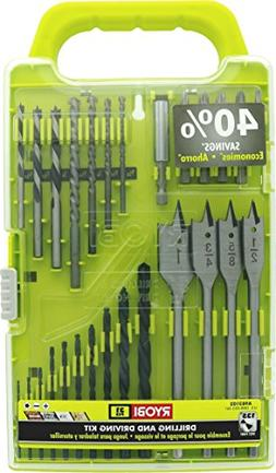 Ryobi A983102 31-Piece Black Oxide Drilling and Driving Bit