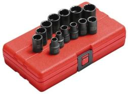 Sunex Tools 3675 13-Piece 3/8 in. Drive 12-Point Metric Impa