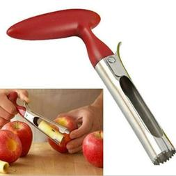 Hot! Stainless Steel Kitchen Twist Core Remover Fruit Apple