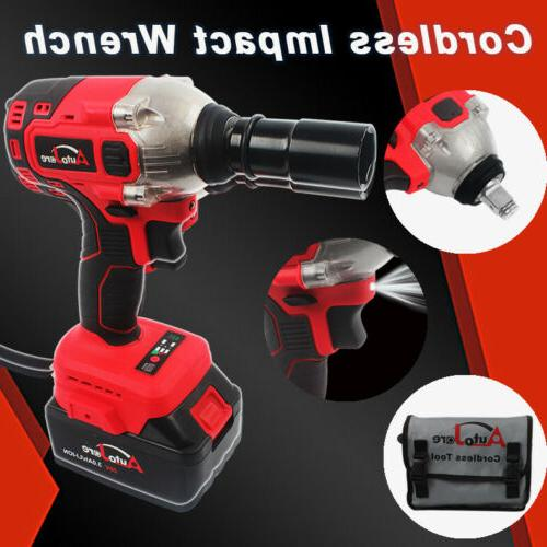 1 2 brushless electric cordless impact wrench