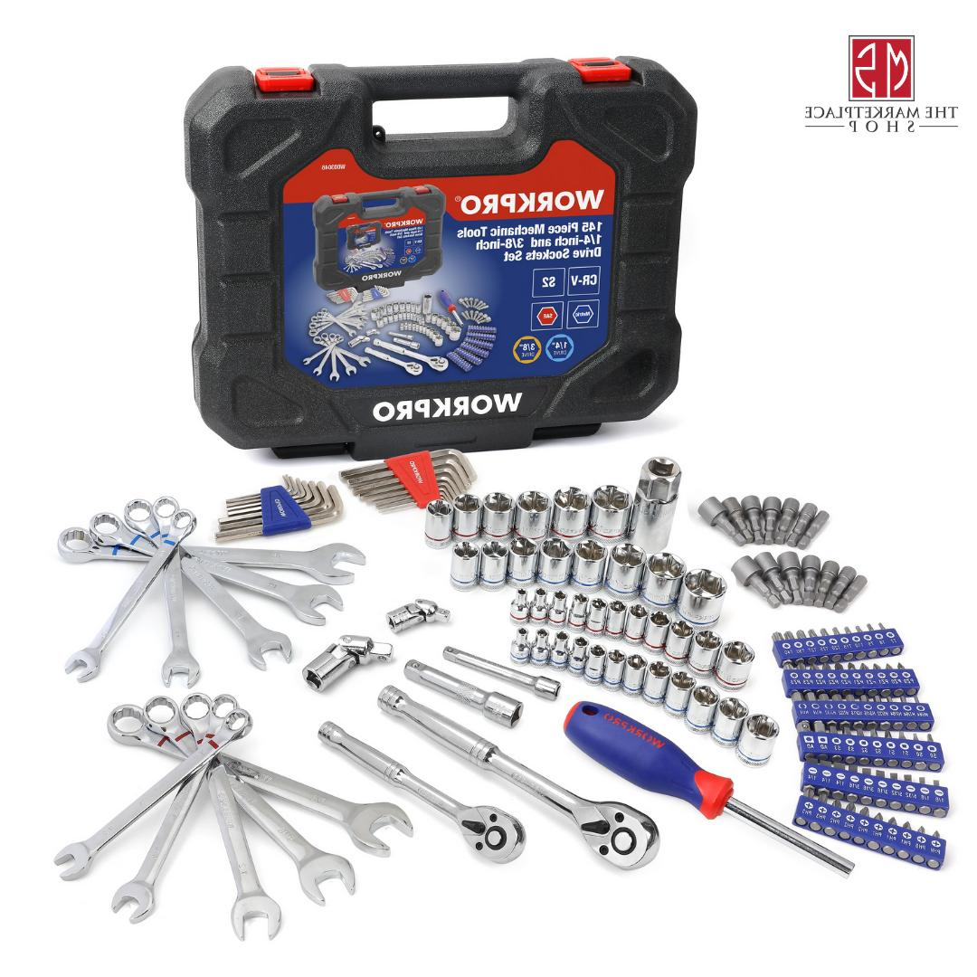 Workpro 145 Tool Set 3/8-inch Drive Set