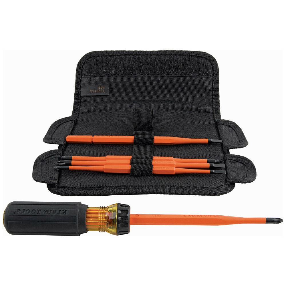 Klein Tools Insulated Interchangeable Set