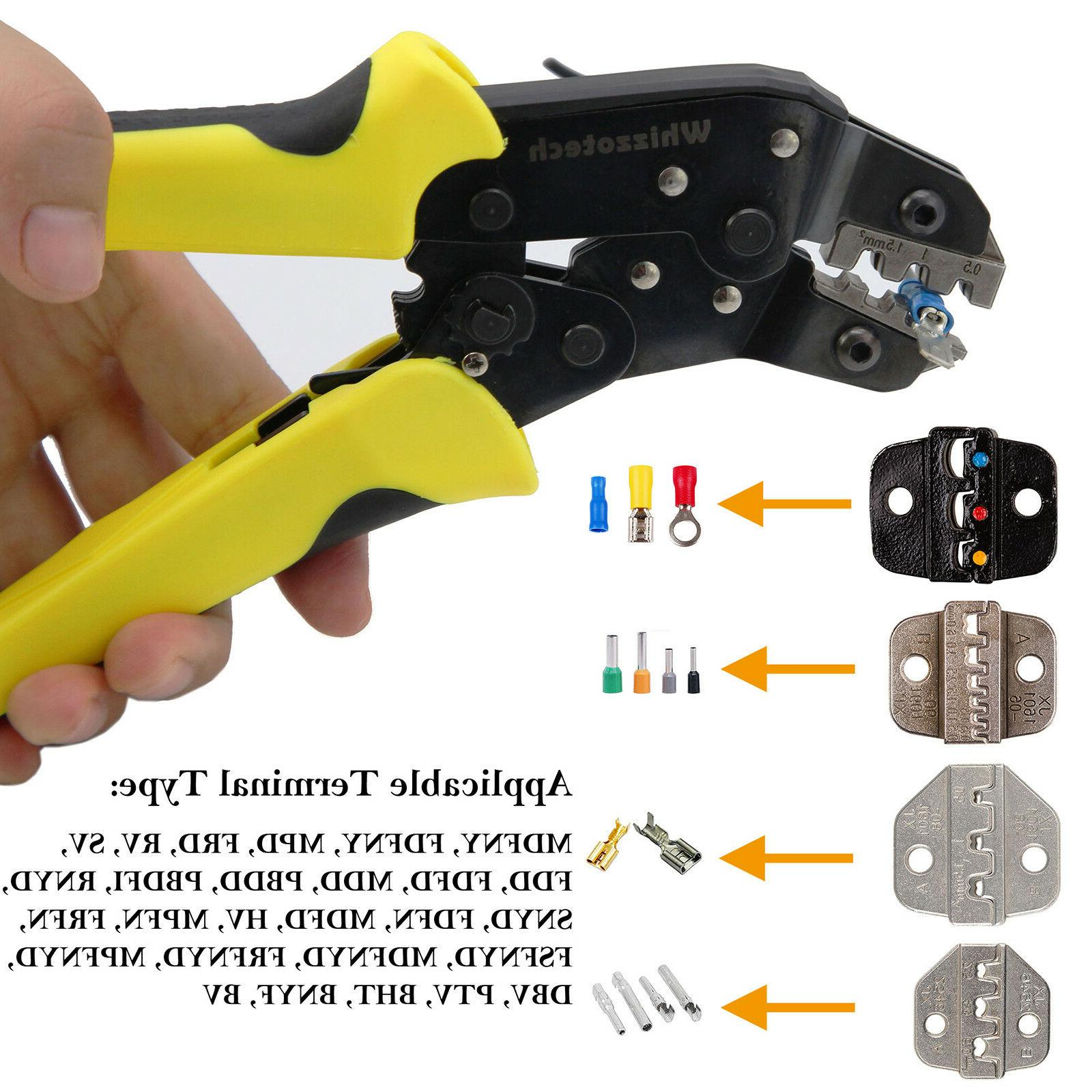 Insulated Cable Ratchet Crimper Pliers