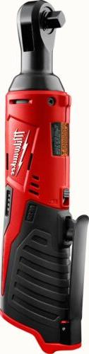 "Milwaukee M12 12 Volt Cordless 3/8"" Ratchet  2457-20"