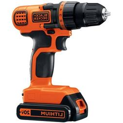 NEW LDX120C 20-Volt MAX Lithium-Ion Cordless Drill/Driver By
