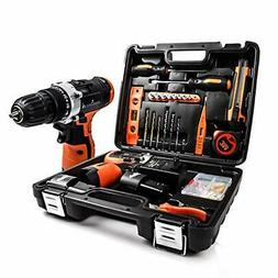 LETTON Power Tools Combo Kit Set 16.8V Cordless Drill with 2