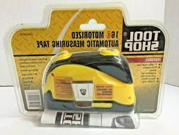 NEW Tool Shop 16' Foot Automatic Motorized Measuring Tape Ru