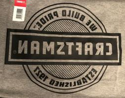 New with Tags~ Craftsman Tools  Men's Grey Gray Shirt size