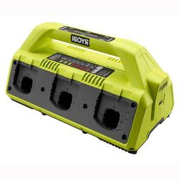 Ryobi P135 18V One+ 6 Port Lithium Ion Battery Supercharger