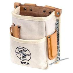 Klein Tools 5125 Tool Pouch, 5-Pocket, Canvas