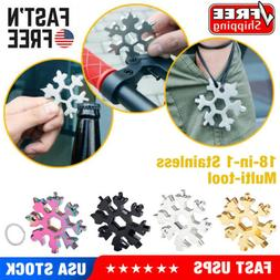 18-1 Multi-tool Combination Compact Portable Outdoor 18 in 1
