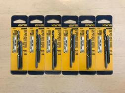 Six Packages of IRWIN Drill Bit and Tap Sets 80230