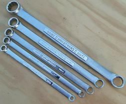 Craftsman Tools USA Metric Double Box End Wrench Set 12 Poin