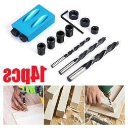 DIY Woodworking Carving Tools Pocket Hole Screw Jig Adapter